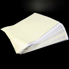 Set 100 Tattoo stencil Supplies Transfer Copier Paper High Quality
