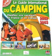 Logiciel le GUIDE INTERNATIONAL du CAMPING vacances 24 pays pc cd rom windows