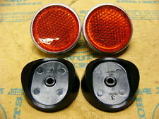 Honda CB 750 Four K0 K1 Seitenstrahler / Sitz Set Reflector Assy and Base Set