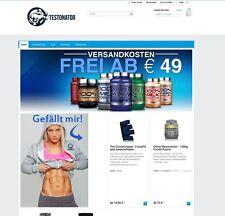 Onlineshop für Sporternährung, Nahrungsergänzungsmittel. Einfacher Nebenerwerb