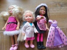 Matttel Barbie Chelsea Kelly Friends Holiday Doctor Oufit Lot Clothes Shoes