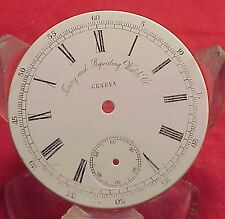 Vintage 42mm TIMING & REPEATING WATCH CO CHRONOGRAPH DIAL Pocket Watch