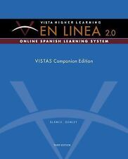 En Linea 2.0 by Vista Higher Learning NEW in WRAP 2007 Ringbound, 3rd Edition