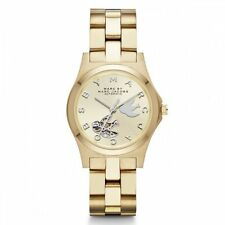 100% Genuine Marc by Marc Jacobs Henry Icon Automatic Dove Watch (MBM9712)