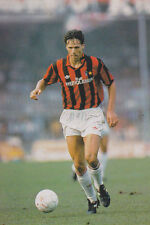 Football Photo MARCO VAN BASTEN AC Milan 1992-93