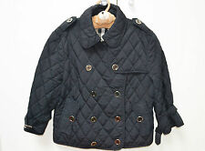 Burberry Girl's Jacket Coat Trench Padded 12 Years Sz L Large Check Lined