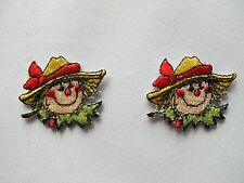 #3770 Circus Clown Face Embroidery Iron On Applique Patch