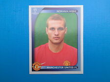 Panini Champions League 2008 2009 - N. 14 VIDIC MANCHESTER UNITED