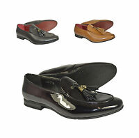 New Men's Casual Loafers Moccasins Slip on Shoes With Tassles Avail UK 6-12