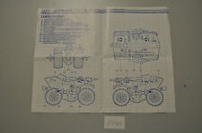 P144 gi joe blueprint french francais ferret atv