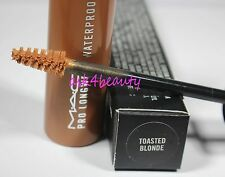Mac Pro Longwear (Toasted Blonde) Waterproof Brow Set 0.17oz/5g New InBox