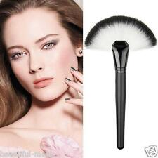 Beauty Makeup Large Fan Blush Face Powder Foundation Cosmetic Brush Contour Brus