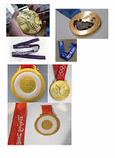 3 Olympic 'Gold Medals' (Beijing 2008/London 2012/Sochi 2012)