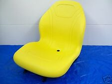 YELLOW HIGH BACK SEAT JOHN DEERE 670,770,790,870,970,990,1070,3005,TRACTOR #FT