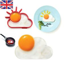 Silicone Sunnyside Up Sun Egg Fried Frying Mould Fun Breakfast Pancake Mold Ring