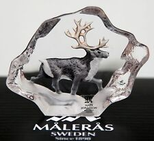 "Mats Jonasson Art Glas ""Safari mini"" Rentier"