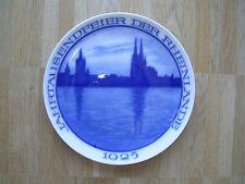 Rosenthal Wandteller Wall Plate Jahrtausendfeier der Rheinlande Köln Rhein 1925