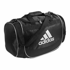 ADIDAS DEFENDER SMALL BLACK/WHITE DUFFEL GYM BAG