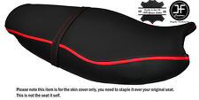 GRIP CARBON RED STRIPE CUSTOM FITS TRIUMPH SPRINT ST 955 i 99-04 SEAT COVER