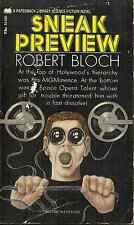 """SNEAK PREVIEW Robert Bloch - SCIENCE FICTION NOVEL - BY THE AUTHOR OF """"PSYCHO"""""""