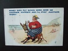 P/card. H.B.Ldt. Money does fly down here, another 6d and I'll stay...posted1929