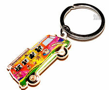 Ben & Jerry 's Peace Love & ICE CREAM GELATO bus COLORATO PORTACHIAVI KEYRING
