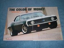 """1969 Chevy Camaro Pro Touring Resto-Mod Article """"The Color of Money"""""""