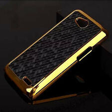For LG Optimus L90 Luxury Chrome Design hard case Back Cover