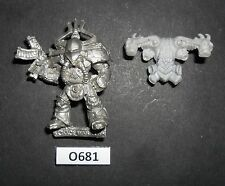WH40K Metal Rogue Trader CHAOS SPACE MARINE RENEGADE BOLTER 10 1991 CAT. O 681