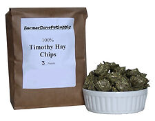 3 lb PREMIUM TIMOTHY HAY CHIPS -- Rabbits, Bunnies, Chinchillas, Guinea Pigs