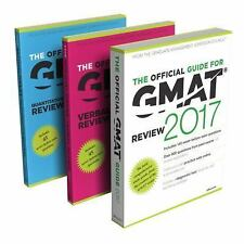 THE OFFICIAL GUIDE FOR GMAT REVIEW 2017- Including Quantitative and Verbal