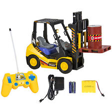 RC Remote Control Forklift With Lights, 6 Channel Electric Kids Toy RC