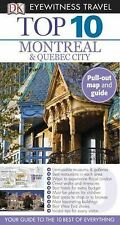 Top 10 Montreal & Quebec City (Eyewitness Top 10 Travel Guide)-ExLibrary