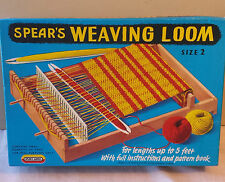 Vintage Spears Wool Weaving Loom Size 2 Circa 1950's VGC With extra wool
