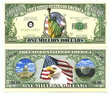 L'AMERIQUE ! BILLET MILLION DOLLAR US - Collection STATUE LIBERTE 11 septembre