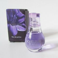 Seductive SO ELIXIR PURPLE by Yves Rocher MINI EAU DE PARFUM 0.16oz./5 ml. NIB