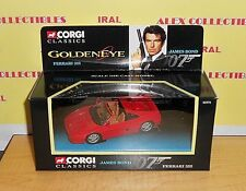Corgi Classics 92978 GOLDEN EYE JAMES BOND 007 - FERRARI 355 - MINT/BOXED