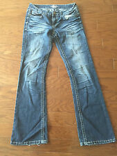 AO DENIM Jeans Womens Juniors Whiskered Size 3