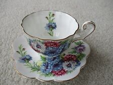 Vintage  Harvest Glory Bone China England Clarence Cup and Saucer