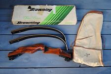 """BROWNING """"BACKPACKER 1"""" Takedown Recurve Bow In Original Box - A Rare Find!"""