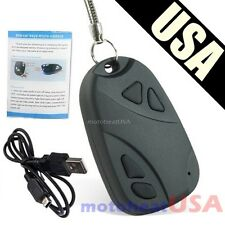 Hidden Spy Cam Camera Nanny DVR Video Recorder Mini Spy Keychain Car Cam USB HD