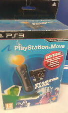 m videogame move starter pack ps3 play station gioco controller eye disk no ps4