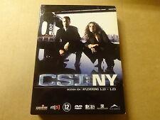 3-DISC DVD BOX / CSI: NY - SEIZOEN 1 - AFLEVERINGEN 1.13 - 1.23 ( DEEL 2 )