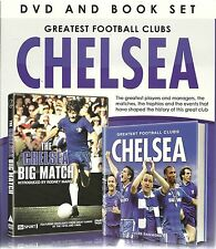 GREATEST FOOTBALL CLUBS CHELSEA DVD & BOOK SET - THE BIG MATCH DVD + LITTLE BOOK
