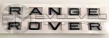 Chrome gloss black range rover lettrage mise à niveau avant et arrière E7