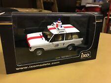 IXO Models - Range Rover Belgian Police 1/43 Scale Model