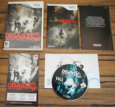Jeu DISASTER DAY OF CRISIS pour Nintendo Wii PAL COMPLET (CD OK)