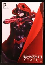 "2013 DC COLLECTIBLES NEW COVER GIRLS BATWOMAN BY ARTGERM 10"" STATUE MIB BATMAN"