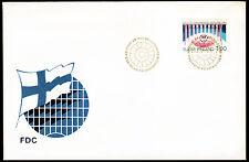 Finnland 1092 FDC, 100 Jahre Interparlamentarische Union (IPU)