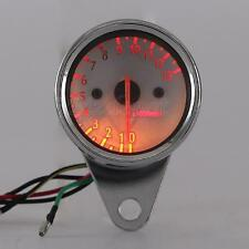 LED Backlit Tachometer Fit Harley Davidson Dyna Softail Sportster XL 883 1200